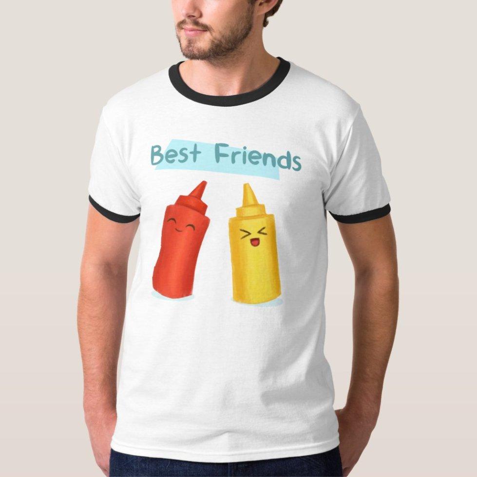 Ketchup Best Friend T-Shirt