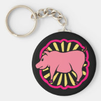 Keychain ~ Keys Chinese Zodiac Sign Year Pig boar