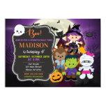 Kids Halloween Birthday Invitation