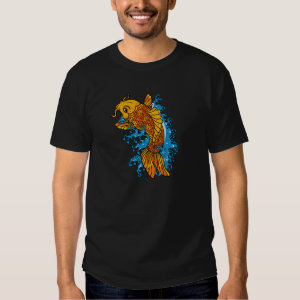 Koi Goldfish Tee Shirt