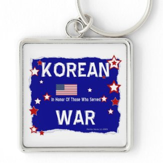 Korean War - In Honor Key Chains
