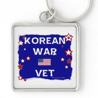 Korean War Vet Key Chain