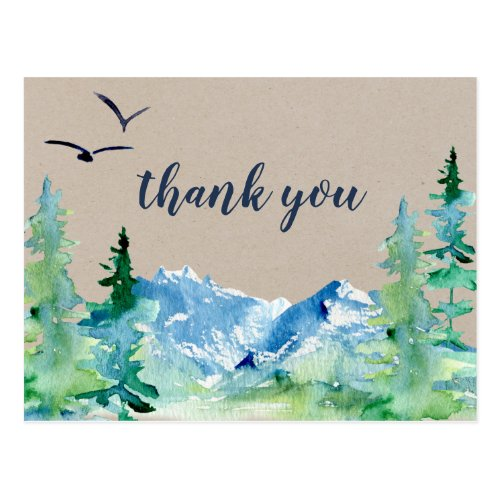 Kraft Rocky Mountain Thank You Postcard