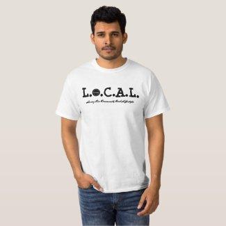 L.O.C.A.L Black and White T-shirt
