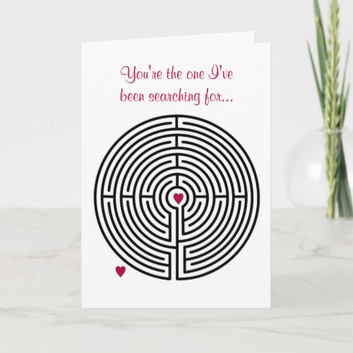 Labyrinth Love card
