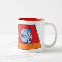 Lady bug design Mug