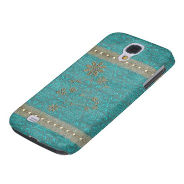 Lady Lace & Pearls Vintage Print HTC Vivid Touch Samsung Galaxy S4 Case
