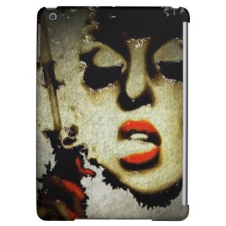 Lady With Attitude Grunge Art iPad Air Case