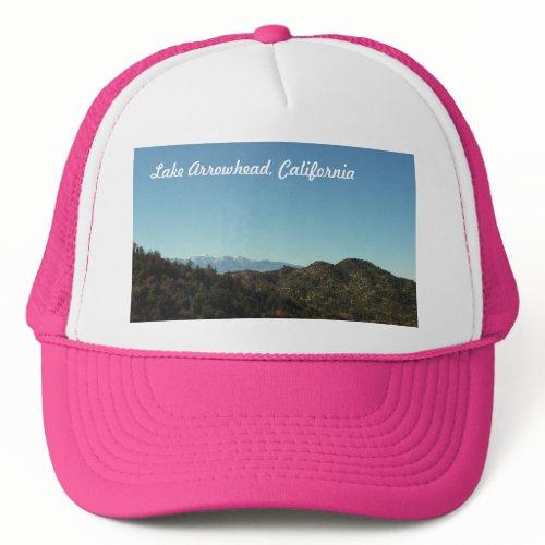 Lake Arrowhead, California Hat hat