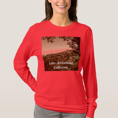 Lake Arrowhead, California shirt