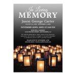 Lantern Memorial Service Celebration Of Life Invitation Zazzle Com