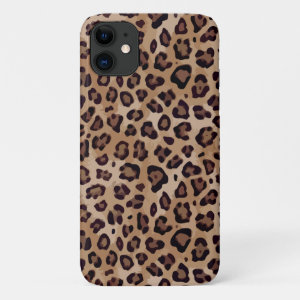 Large Leopard Print iPhone 11 Case