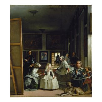 Las Meninas or The Family of Philip IV, c.1656 Posters