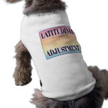 """Latitudinal Adjustment"" pet clothing"