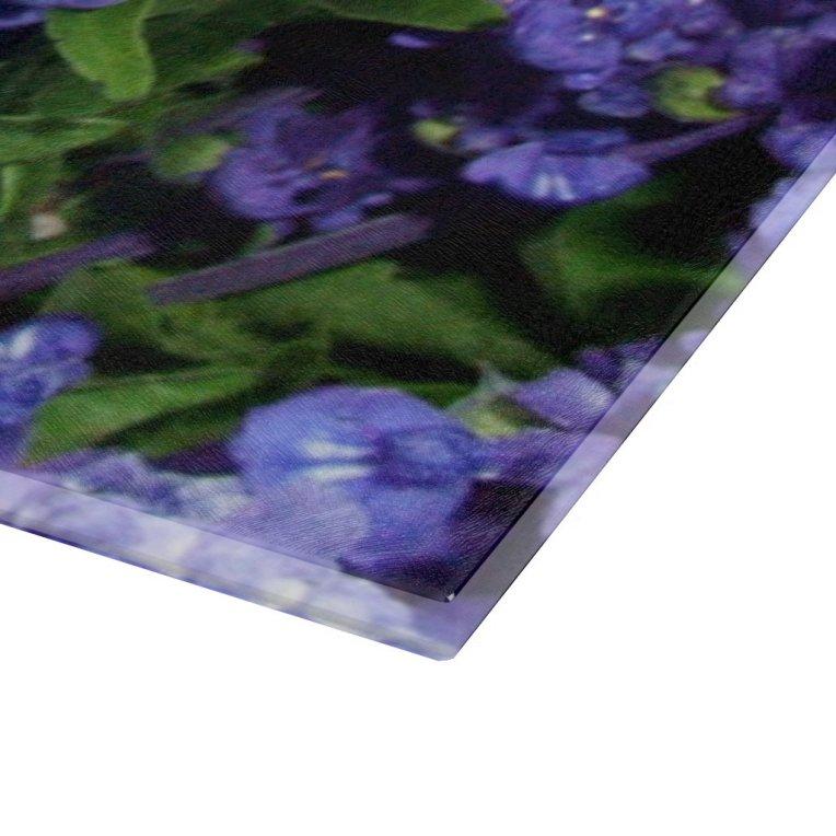 Lavender Flowers, Dark Purple Violet Blue Floral