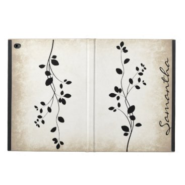 Leafy Vine Design iPad Air Case