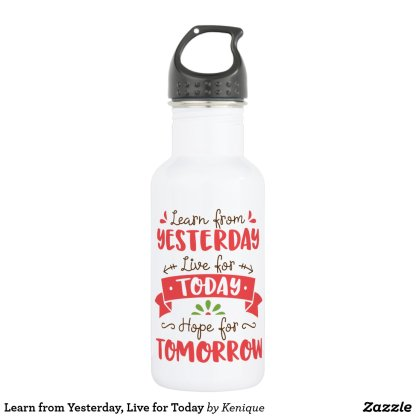 Learn and Live Water Bottle