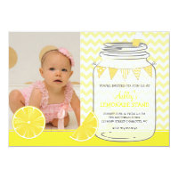 Lemonade Birthday Party Invitation