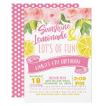 ❤️ Lemonade Invitation