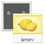 Lemons buttons