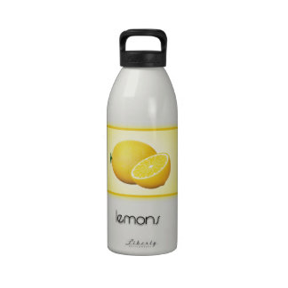 Lemons Water Bottle