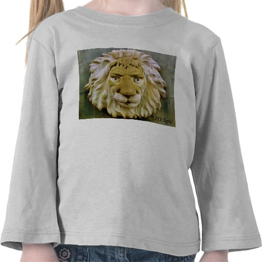 """Lenny the Lion"" Toddler Top Shirts"