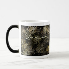 Let It Snow - Morphing Mug