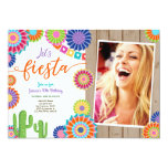 Let's Fiesta invitation Mexican Birthday 30 Woman