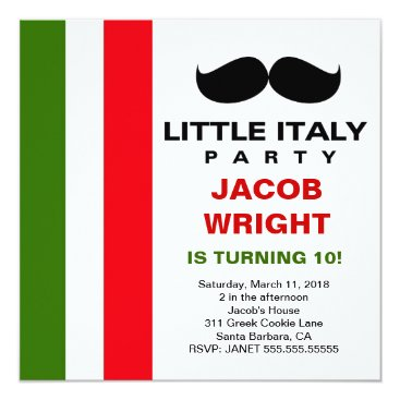 LGC Little Italy Party Card