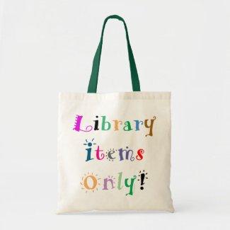 Library Tote Bag bag