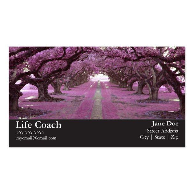 Life Coach Business Card   Zazzle