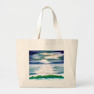 Light Dance on the Sea CricketDiane Ocean Art bag