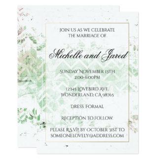 Fl Watermark Roseate Wedding Invitations