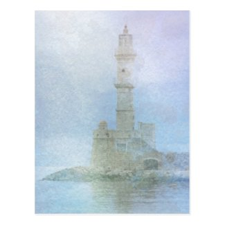 Lighthouse in the Mist Post Cards