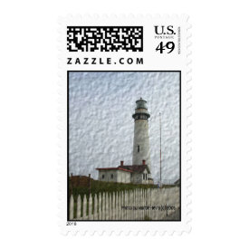 Lighthouse Photo-Painting Stamp