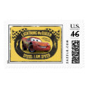 Lightning McQueen - Speed. I Am Speed Disney Stamps