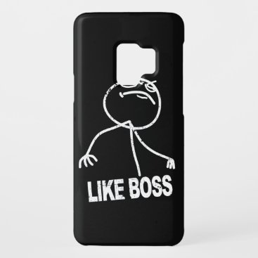 Like Boss meme Case-Mate Samsung Galaxy S9 Case
