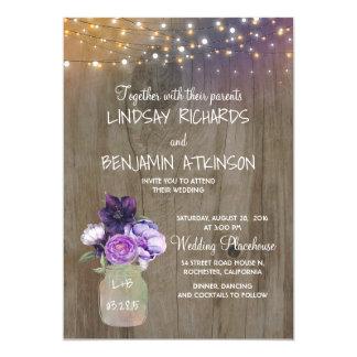 Custom Laser Cut Wedding Card Chinese Royal Wrap Pocket Invitation Lilac Ivory