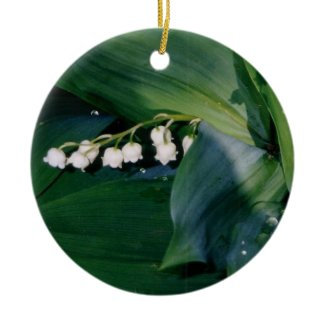 Lily of the Valley Ornament ornament