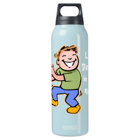 Line Dancer in the Making! (Boy) Insulated Water Bottle