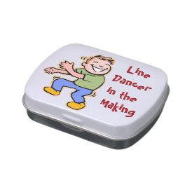 Line Dancer in the Making! (Boy) Jelly Belly Candy Tin