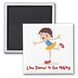 Line Dancer in the Making! - Girl Magnet