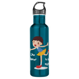 Line Dancer in the Making! - Girl Stainless Steel Water Bottle