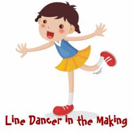 Line Dancer in the Making! - Girl Statuette
