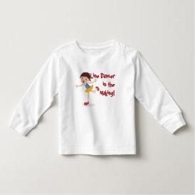 Line Dancer in the Making! - Girl Toddler T-shirt