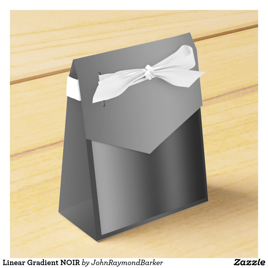 Linear Gradient NOIR Favor Box