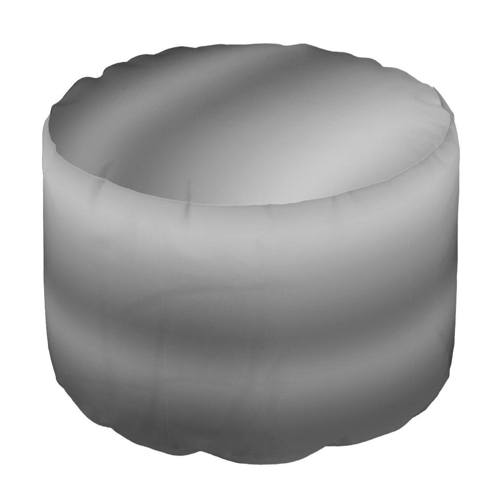 Linear Gradient NOIR Pouf