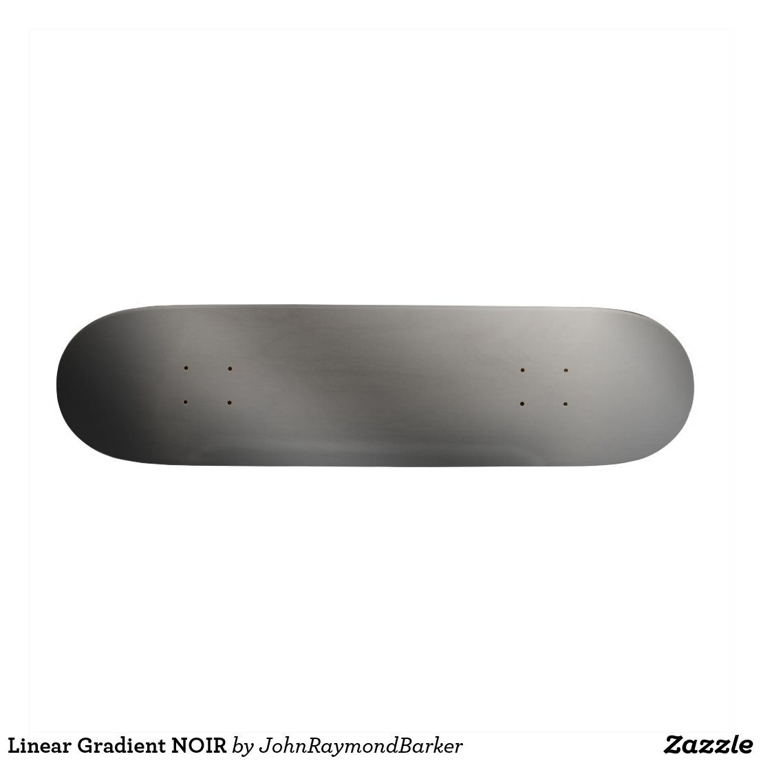 Linear Gradient NOIR Skateboard