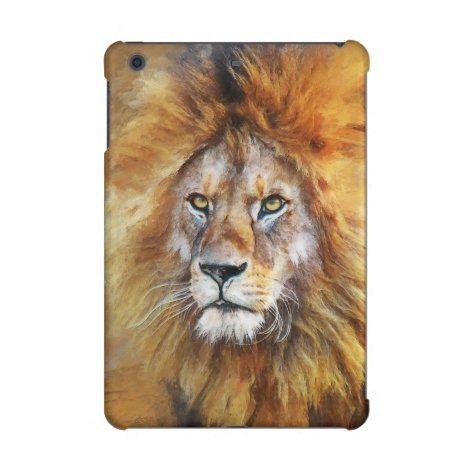 Lion Digital Oil Painting iPad Mini Case