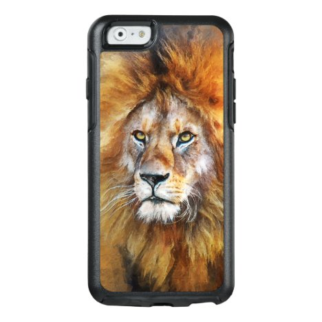 Lion Digital Oil Painting OtterBox iPhone 6/6s Case